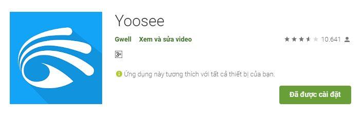 Biểu tượng phần mềm Yoosee mới