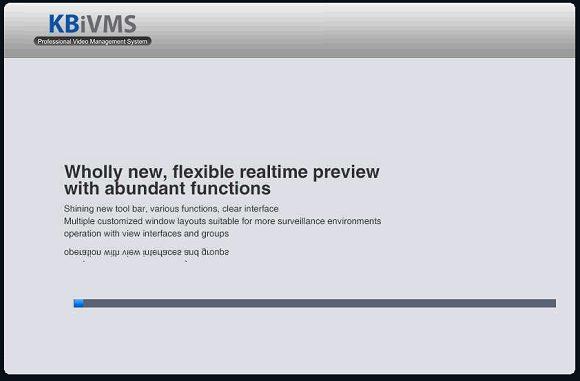 Màn hình cài đặt KBiVMS cuối cùng, bạn chờ đợi nó chạy xong là Ok !