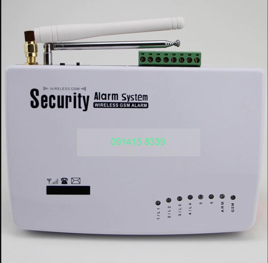 Bộ điều khiển trung tâm của thiết bị báo trộm không dây chất lượng