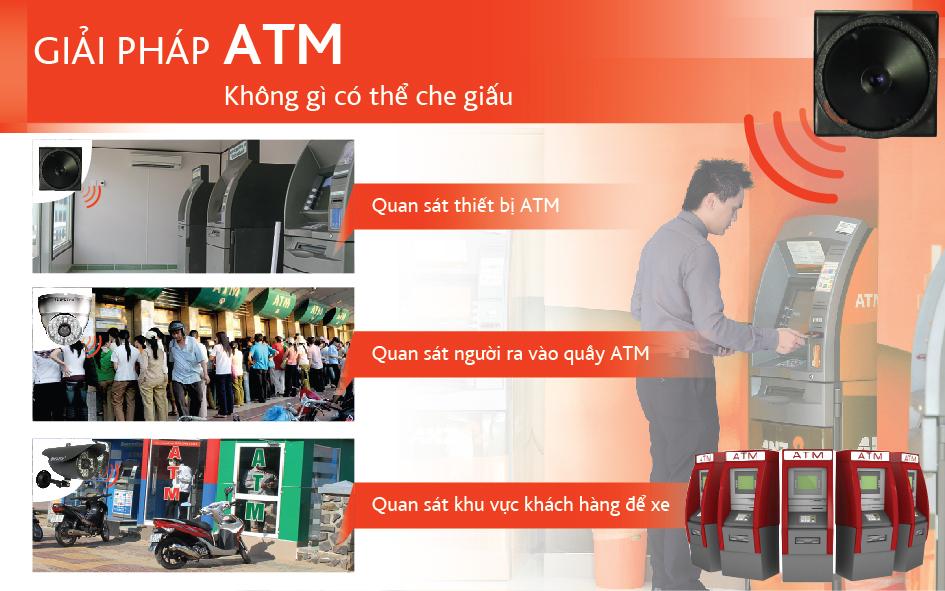 Giải pháp lắp đặt camera ATM