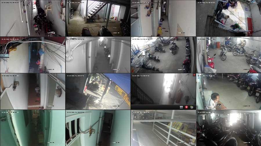 Lắp đặt camera quan sát cho phòng trọ