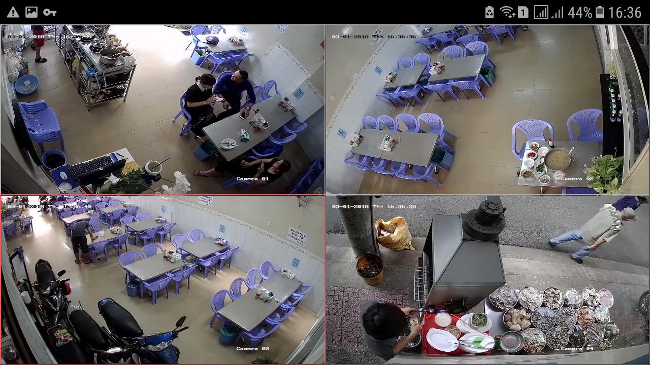 Lắp camera quan sát giá rẻ nhưng hình ảnh rất tuyệt vời với dòng KX KBVISION