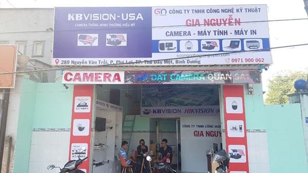 Gia Nguyễn được đánh giá là công ty lắp đặt camera tại Bình Dương chất lượng