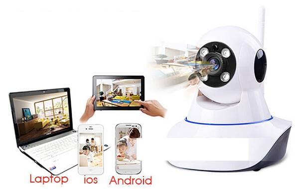 Camera an ninh wifi có nhiều ưu điểm và tính năng vượt trội