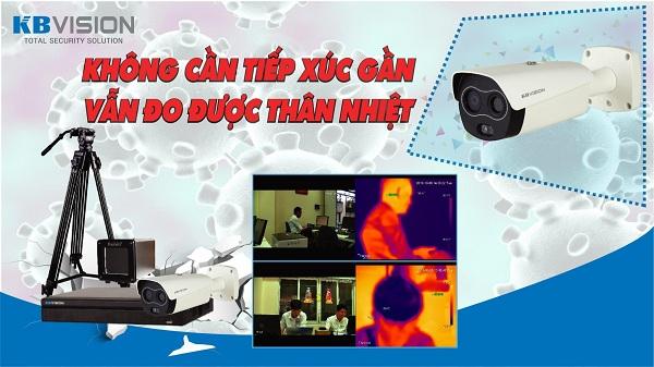 Camera cảm biến thân nhiệt KBVISION - giải pháp an toàn mùa dịch