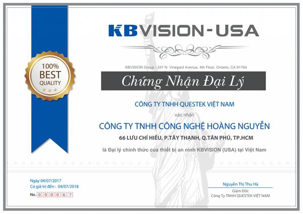Hoàng Nguyễn mang lại giá trị thật khi tuyển đại lý camera Hikvision