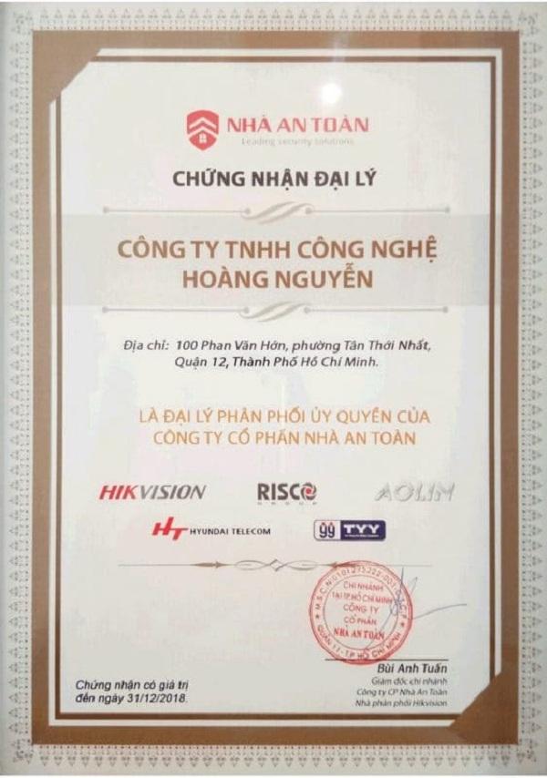 Hoàng Nguyễn là nhà phân phối camera Hikvison chính thức