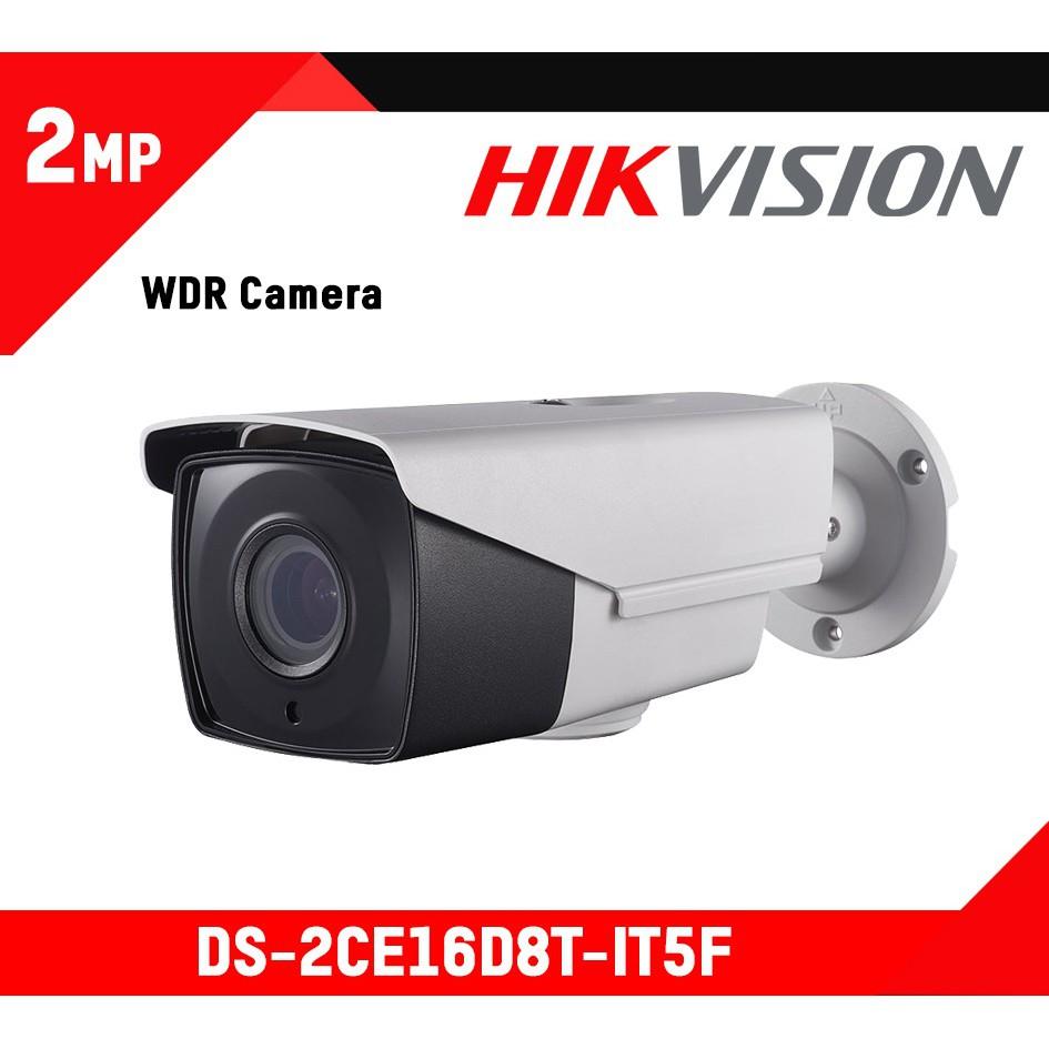 Camera thân trụ 2MP Starlight- chống ngược sáng HIKVISION DS ...