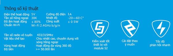 Trung Tâm Điều Khiển Nhà Thông Minh Broadlink RM-Pro giá tốt